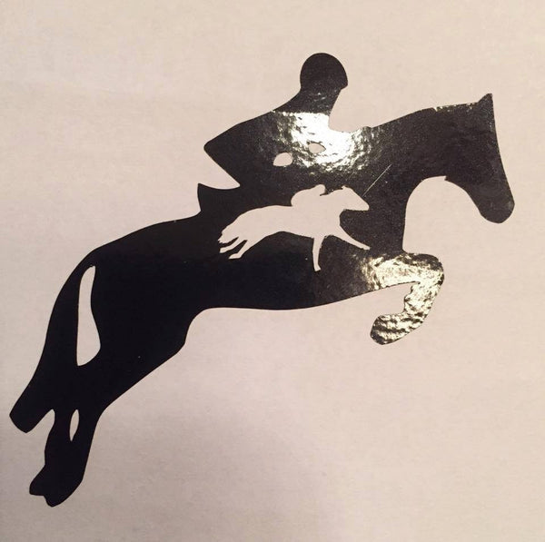 OTTB Hunter Decal (Side View) - KJ Creations