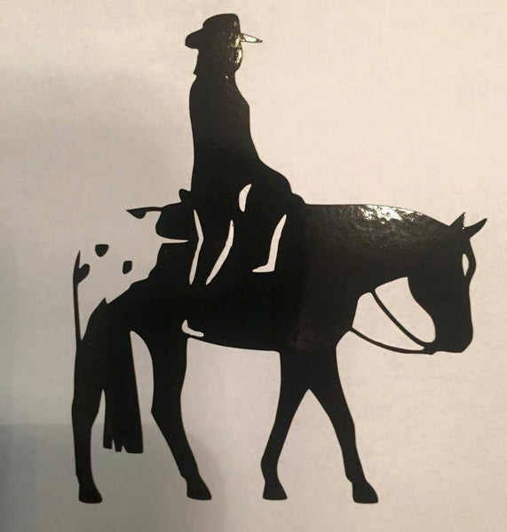 Western Pleasure Appaloosa Decal - KJ Creations