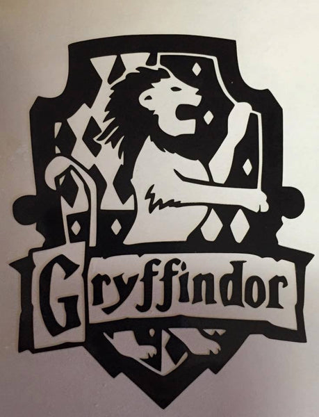 Harry Potter Gryffindor House Decal - KJ Creations