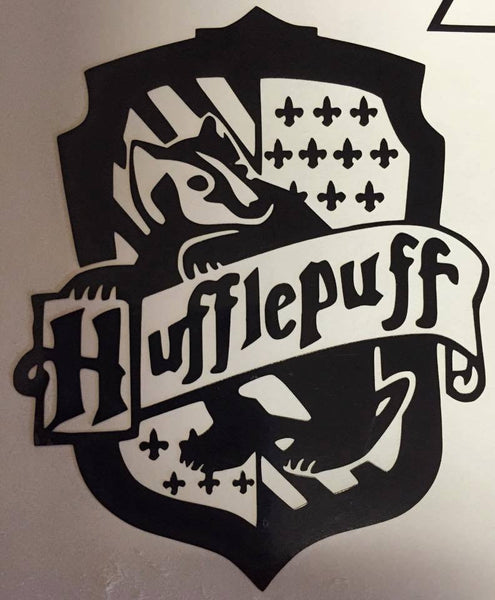 Harry Potter Hufflepuff House Decal - KJ Creations