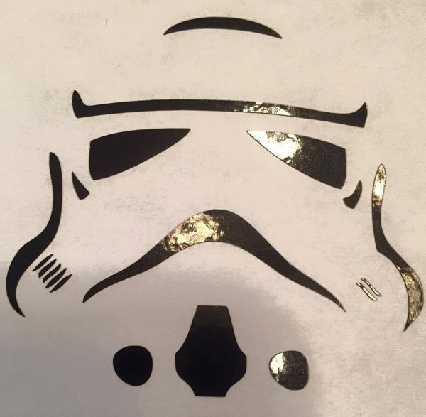 Starwars Storm trooper Decal - KJ Creations