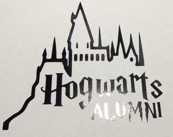 Harry Potter Hogwarts Alumni Decal - KJ Creations