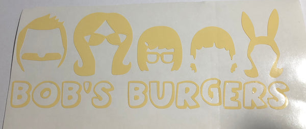 Bob's Burgers Family Decal