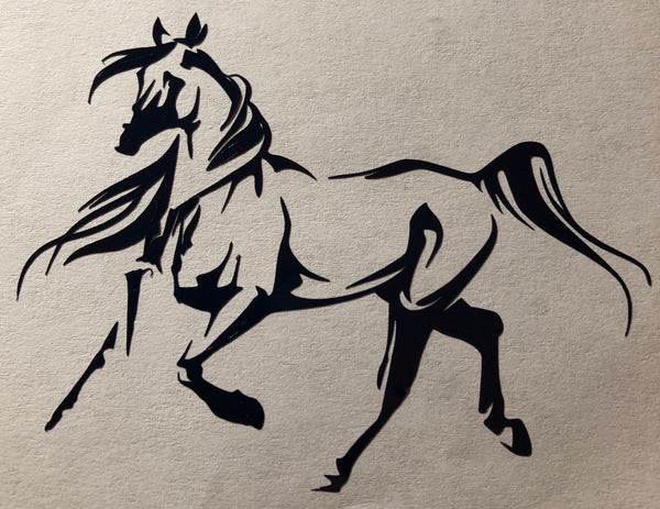 Arab trot Decal