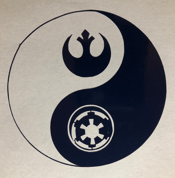 StarWars Yin Yang Decal