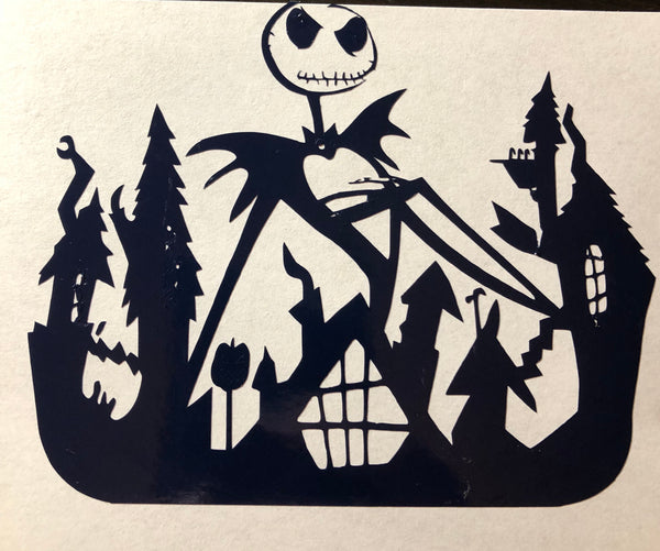 NBC Jack & Halloweentown Decal