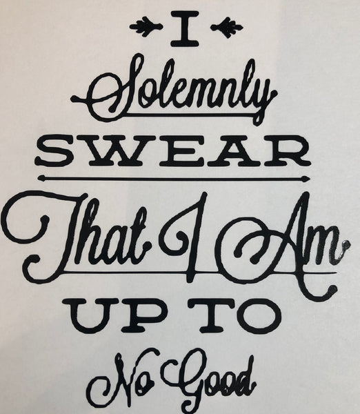 HP Inspired Solemnly Swear retake  Decal
