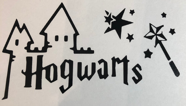 HP Inspired Castle outline  Decal