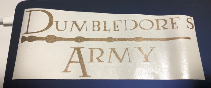 HP Dumbledore's Army Decal