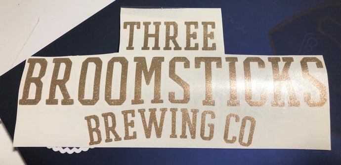 HP Inspired 3 Broomsticks Brewing Decal