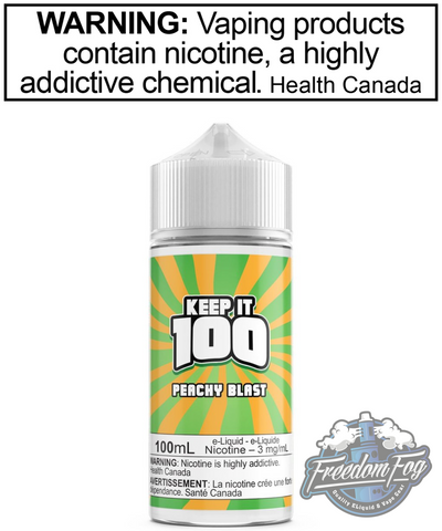 Keep it 100 Peachy Blast 100ml
