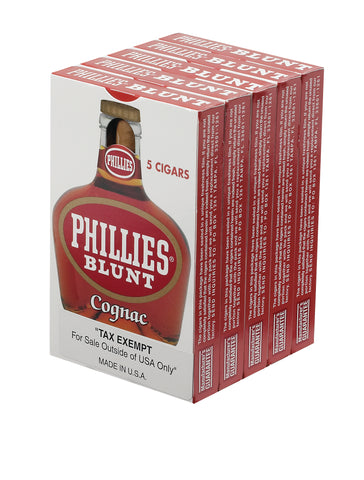 Phillies Blunt Cognac (Sold Individually or by the pack)