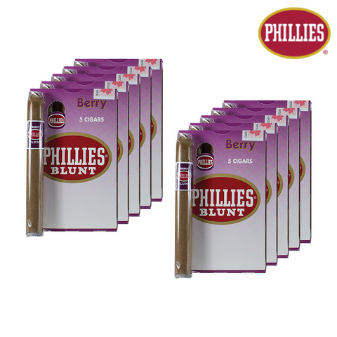 Phillies Blunt Berry (Sold Individually or by the pack)