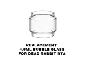 Hellvape Dead Rabbit Replacement Glass