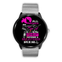 Registered Nurse Only The Finest Watch | Nursing Life | Scrub Life - Black Watch