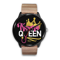 Trauma Queen Nurse Watch | RN Life | Future Nurse - Black Watch