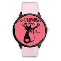 Cat Stuff Womens Watch | Cat Gear | Crazy Cat Lady - Black Watch