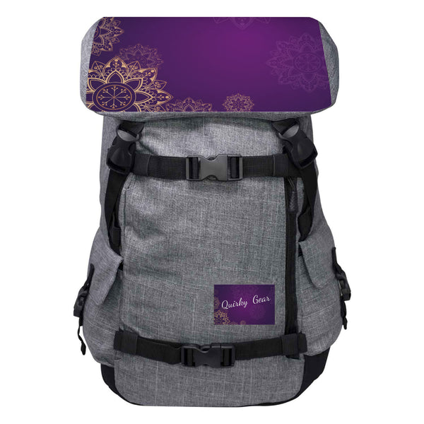 Quirky Gear Purple Top Anti Theft Penryn Backpack - Penryn Backpack