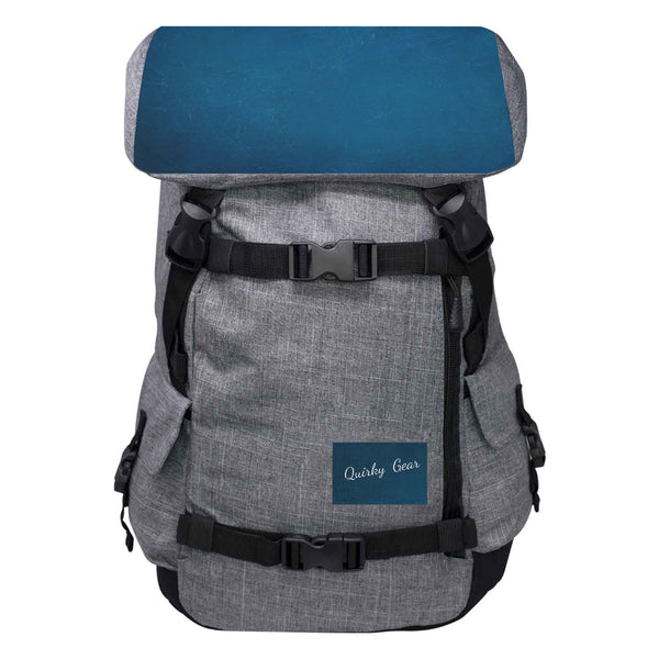Quirky Gear Blue Top Anti Theft Penryn Pack - Penryn Backpack