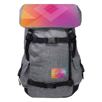 Quirky Gear Geometric Top Anti Theft Penryn Backpack - Penryn Backpack