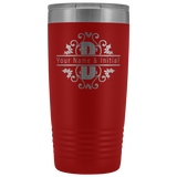 Mom Gift | 20oz Personalized Split Monogram Tumbler Cup-Tumblers-TD Gift Solutions.com