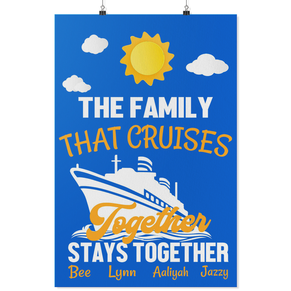 Ticia Custom Crusie Door Decoration-Posters 2-TD Gift Solutions.com