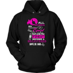 Registered Nurse Only The Finest Hoodie | Nurse Life | Future Nurse - TD Gift Solutions.com