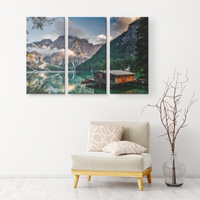 36x24 A Taste of Italy Three Piece Wall Art-Canvas Wall Art Set 3-TD Gift Solutions.com