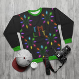 I'm Lit AOP Unisex Ugly Christmas Sweatshirt-All Over Prints-TD Gift Solutions.com