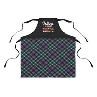 Funny Apron | Women's When In Doubt Add Bacon Apron-Aprons-TD Gift Solutions.com