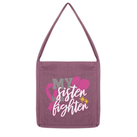 My Sister Is A Fighter 2 Classic Tote Bag-Accessories-TD Gift Solutions.com