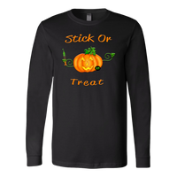 Pumpkin T Shirt | Funny Nurse Halloween Long Sleeve Tee-T-shirt-TD Gift Solutions.com