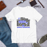 Health Care Worker | Blue Respiratory Therapy Always Essential T-Shirt-T-Shirt-TD Gift Solutions.com