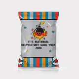 Boom It's National Respiratory Care Week | Respiratory Therapy Party Favor - Chip Bag Favors