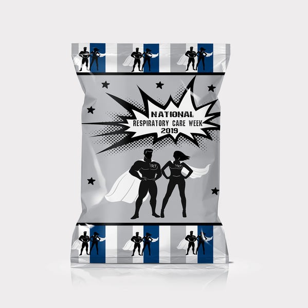RT Swagger | RT Super Hero Chip Bag Favors - Chip Bag Favors