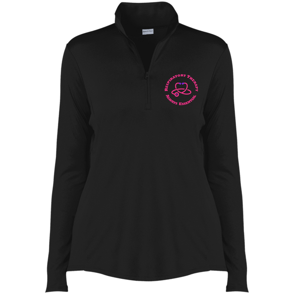 RT Always Essential Ladies' Competitor 1/4-Zip Pullover-Sweatshirts-TD Gift Solutions.com
