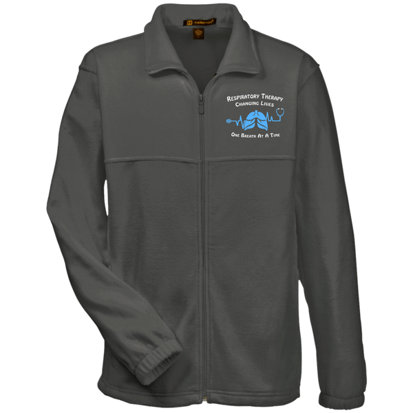 Respiratory Therapist | Respiratory Care Men's Harriton Fleece Full-Zip-Jackets-TD Gift Solutions.com