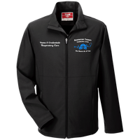 Respiratory Therapist | Men's Personalized Team 365 Softshell TT80 Jacket