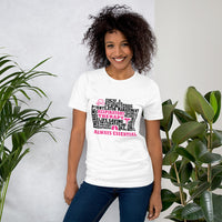 Bella & Canvas Pink Respiratory Therapy Always Essential T-Shirt-T-Shirt-TD Gift Solutions.com