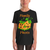 Pumpkin Shirt | Pumpkin Family Photo Short-Sleeve T Shirts-TD Gift Solutions.com