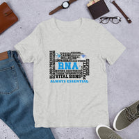 Healthcare Worker | Registered Nursing Assistant Always Essential Bella & Canvas Tee-Apparel-TD Gift Solutions.com