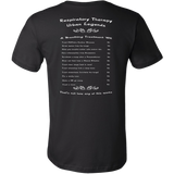 Respiratory Therapy Urban Legends | Canvas Mens Shirt | RT Swag - TD Gift Solutions.com