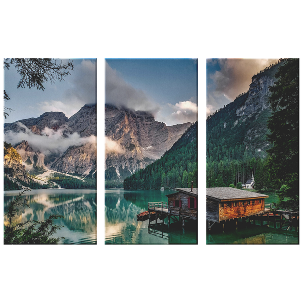 48x32 A Taste of Italy Three Piece Wall Art-Canvas Wall Art Set 3-TD Gift Solutions.com
