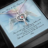 Stethoscope Necklace | Healthcare Workers & First Responders Prayer-Jewelry-TD Gift Solutions.com