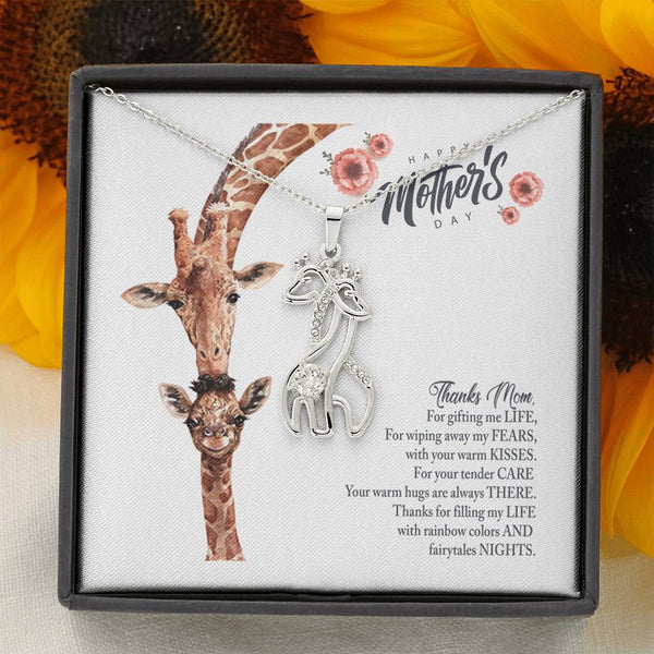 Giraffe Necklace | Mother's Day Giraffe Necklace-TD Gift Solutions.com