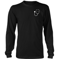 RT Swagger | Respiratory Therapy Urban Legends District Long Sleeve T-Shirt - T-shirt