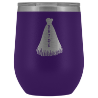 Bride 12 oz Wine Tumbler | Bridal Gifts-Wine Tumbler-TD Gift Solutions.com