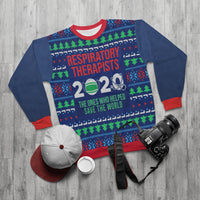 Respiratory Therapy 2020 The Ones Who Helped Save The World Ugly Sweatshirt-All Over Prints-TD Gift Solutions.com