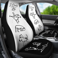 A DOG'S LIFE CAR SEAT COVERS | Dog Lovers-Car Seat Covers-TD Gift Solutions.com