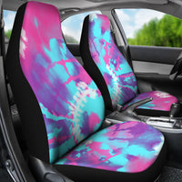 Pink Car Accessories | Pink and Blue Tie-Dye-Car Seat Covers-TD Gift Solutions.com